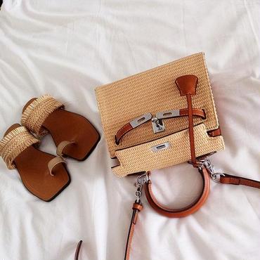 2way Jute Bag KELLYtype mini