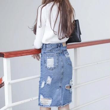 Krush Denim Skirt