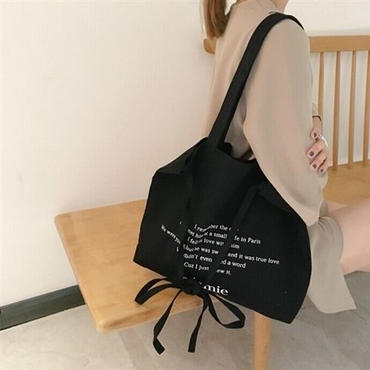Letter BIG Tote Bag