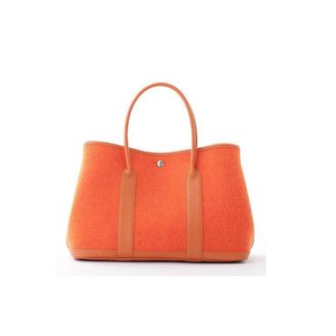 Garden party type felt bag
