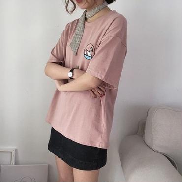 いまだけ送料無料【2018 s/s】SWAN T shirt  さくら🌸