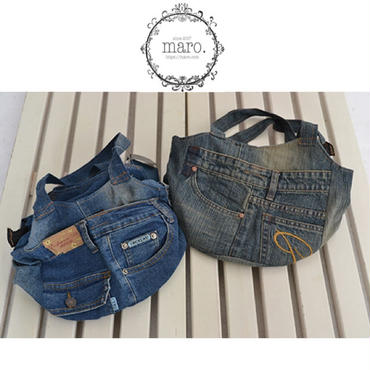 【限定2点sale】denim bag