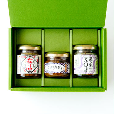 【 父の日企画】 ご飯のお供3種セット(箱入り)