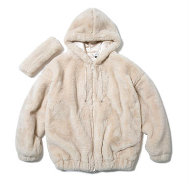 CAM'S FLUX FUR HOODIE & 2WAY BAND