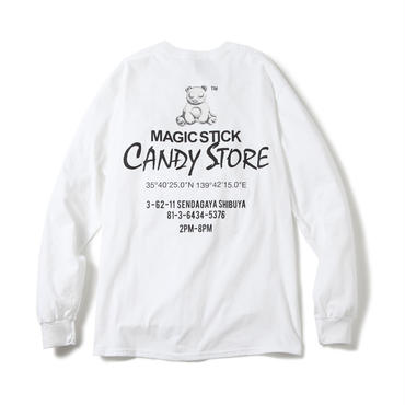 MSCS CANDY STORE TEE (WHITE)