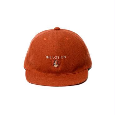 WOOLY FLAT VISOR HAT(HERMES ORANGE)