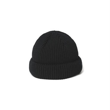 SHORT LENGTH WATCH CAP(BLACK)