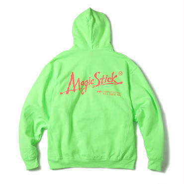 NEON COLOR DFA HOODIE (SECURITY GREEN)