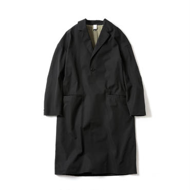 RAW EDGED CHESTER COAT SOLID