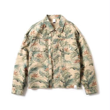 FLORAL TYPE 2ND TRUCKER JACKET