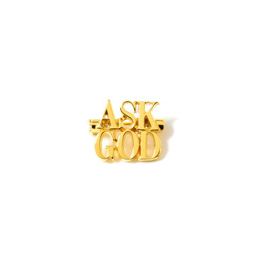 ASK GOD PINS (GOLD)