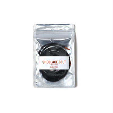 SHOELACE BELT (BLACK)