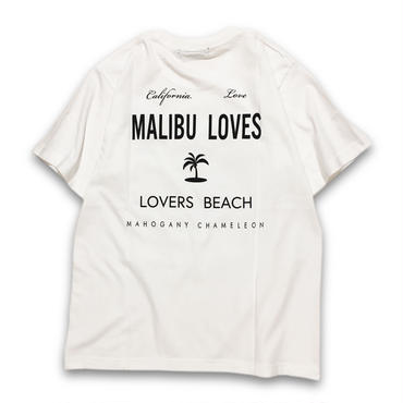 """MALIBU"" T-SHIRTS (PURE WHITE)"