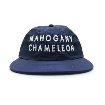"""MC CLASSIC LOGO"" 6PANEL NYLON CAP (NAVY / WHITE)"