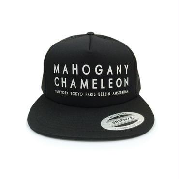"""""""MAHOGANY CHAMELEON CITY"""" SNAPBACK MESH CAP"""