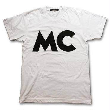 """MC"" CLASSIC T-SHIRTS (WHITE)"