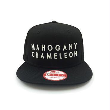 """""""MAHOGANY CHAMELEON"""" NEWERA 9Fifty SNAPBACK CAP (BLACK)"""