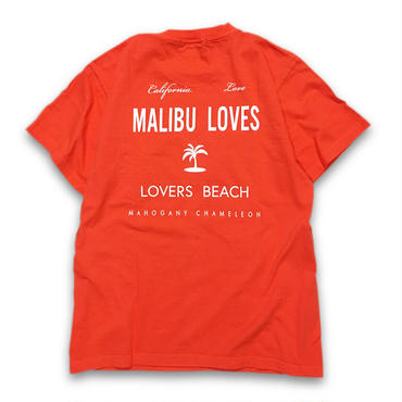 """MALIBU"" T-SHIRTS (ATLANTIC SALMON RED)"
