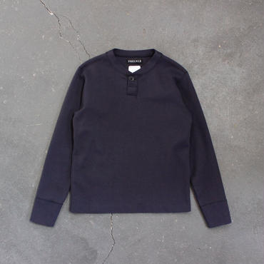 miranoribu cotton henley neck/NV