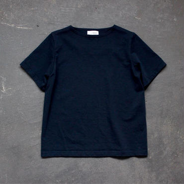 center back tshirt / indigo blue