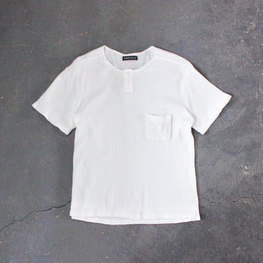 waffle henley neck cut and sewn/OF/MAN