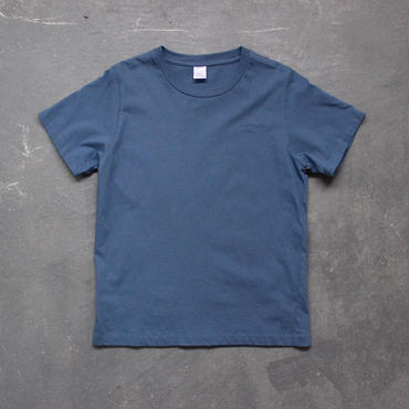 """comfortable clothes""printTshirt/indigo blue"