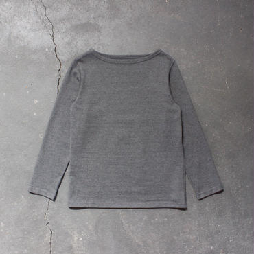 basque shirt /gray