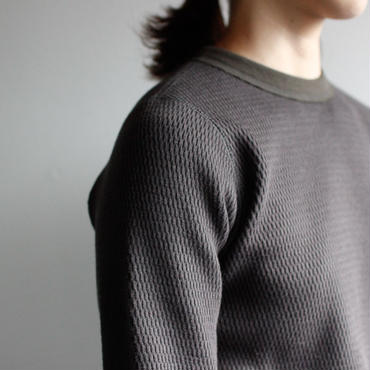 honeycombcotton tops/charcol