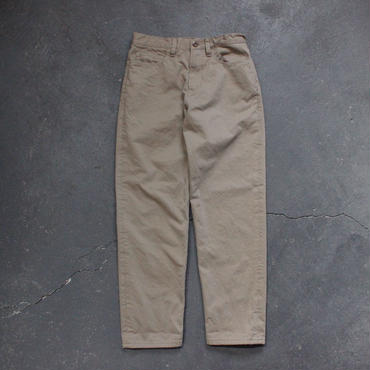 cotton twill pants/BE