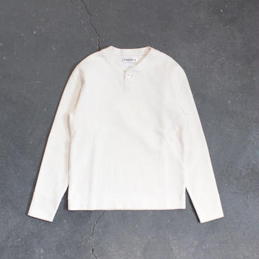 miranoribu cotton henley neck/KINARI