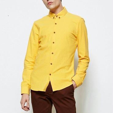 スーツにも◎カラー豊富/黄色/ネイビー/黒などベーシックシャツ