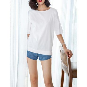 シンプルなTシャツ レディース 流行関係なくご利用頂ける商品