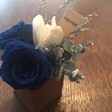*natural Preserved Flowers Arrangement mini* flowers cake*MJ056