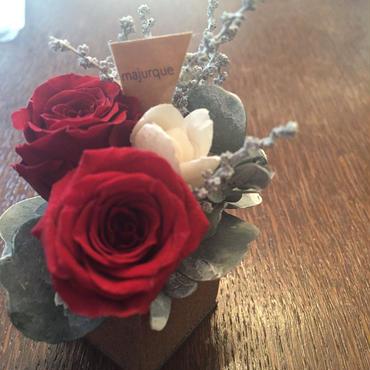 *natural Preserved Flowers Arrangement mini* flowers cake*MJ050