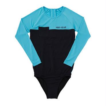 TIME SALE☆  Rash Guard with Bikini Pants (ラッシュガード1体型) 【21W04/41S】