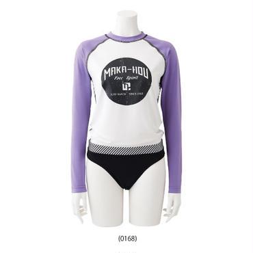 Rash Guard with Bikini Pants  【21W05/41S】         UVカットUPF50+                            吸水速乾