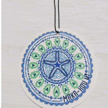 TIME SALE☆【MAKA-HOUオリジナル】 エアーフレッシュナー  (ブルー)2枚入り