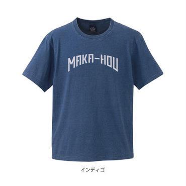 先染めインディゴTシャツ  MAKA-HOU(G2019)