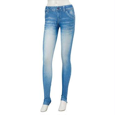DENIM PRINT LEGGINGS PANTS(デニムプリントレギンスパンツ) 71W05/61S