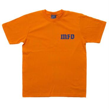 【ORANGE】cross logo T