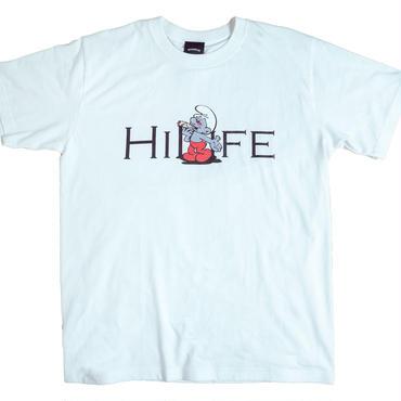 【WHT】hi life T- shirt