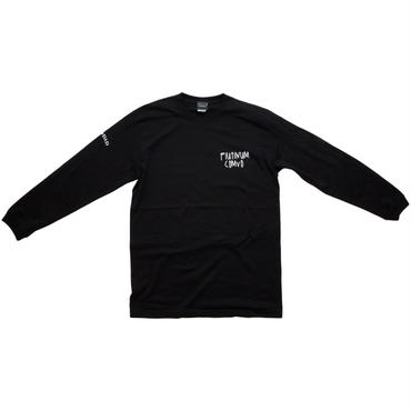 【BLK】Comvo long sleeve T