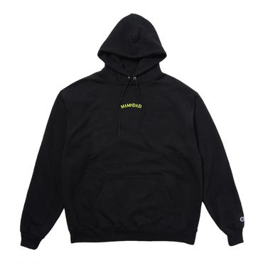 【BLK】Center Logo parka
