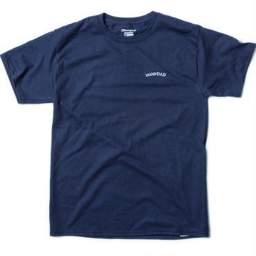 【NAVY】刺繍 arch logo T-shirt