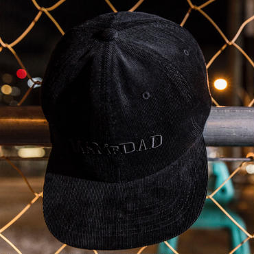 【BLK】Corduroy Cap