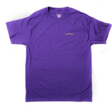 【PURPL】刺繍 arch logo T-shirt