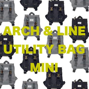 【ARCH&LINE】UTILITY BAG MINI ( GREY/BLACK)