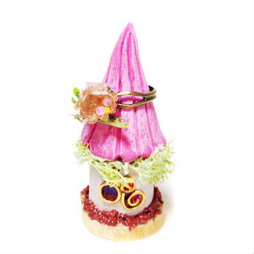 ピンククリームのouchi ring