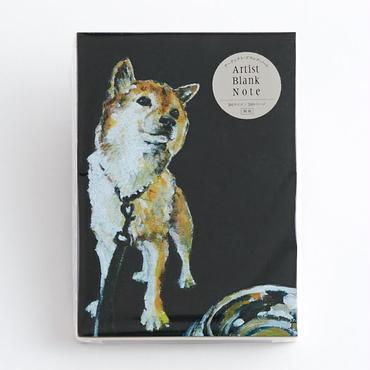 (NEW!) ARTIST BLANK NOTE-Shiba Dog