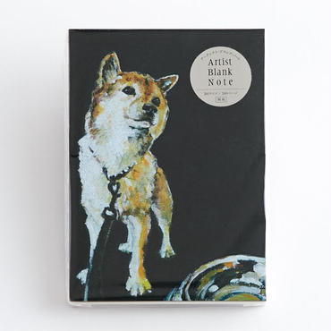 ARTIST BLANK NOTE-Shiba Dog